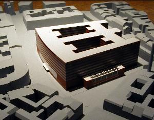 Mies van der Rohe; Competition project for the Reichsbank, Berlin, 1933