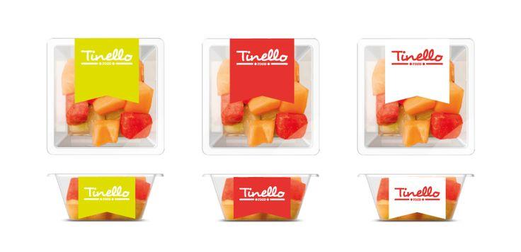 Food. Logo and Corporate identity. Project personal. Immagine coordinata di Tinello FOOD. Progetto personale.