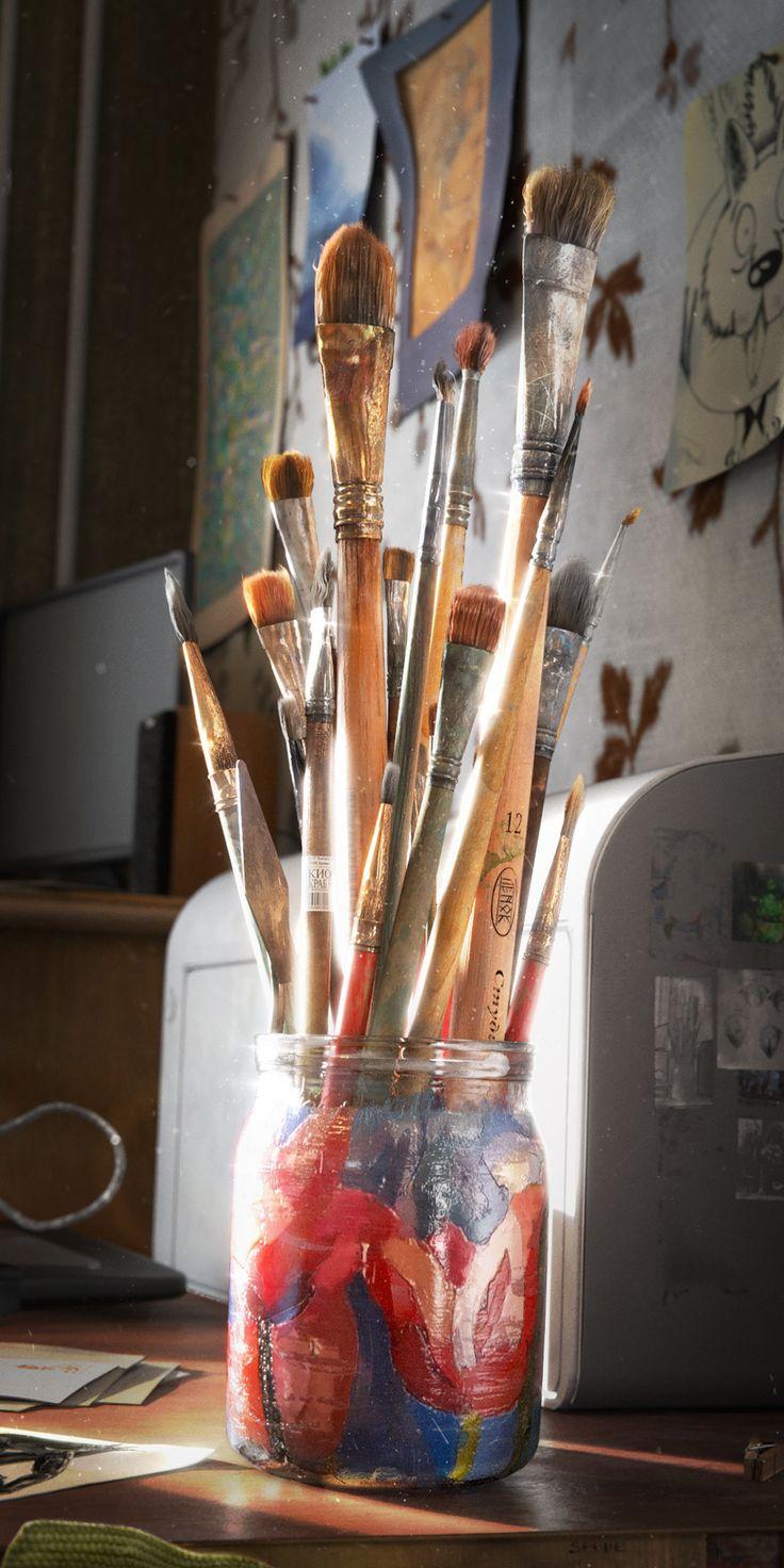 Makingof the Brushes • Creative Shrimp in 2020 Blender