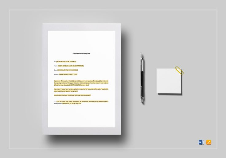 Sample Memo Template  $12  Formats Included : MS Word, Pages File Size : 8.27x11.69 Inchs, 8.5x11 Inchs #SampleMemo #Documents #Documentdesigns #Memodesigns #MemoTemplates