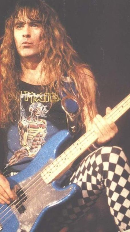 the government doesnt want you to think Steve Harris- Iron Maiden