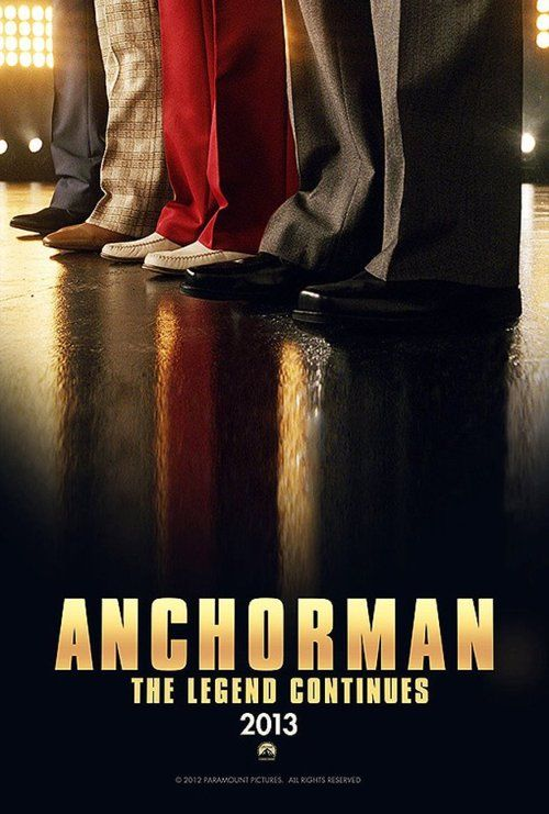 Official Anchorman 2 poster. HEll YES! #swag