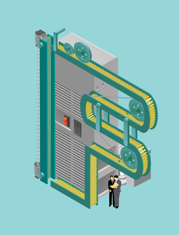 UK-based graphic designer and illustrator Jing Zhang is currently working on a beautiful series of isometric letters, rendering typographical forms as small industrial buildings, machines, factories, and landscapes.