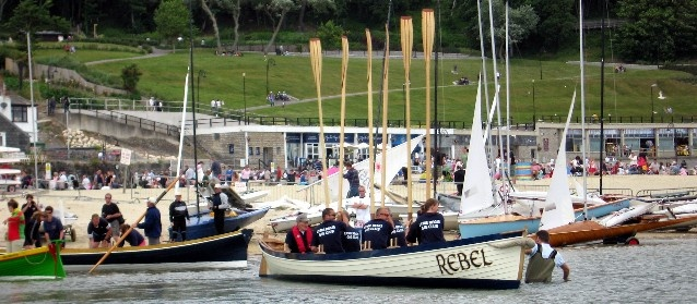 Rebel Lyme Regis Gig Club's first pilot gig was launched in June 2008