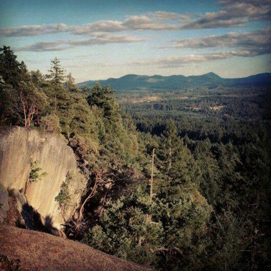 Little mountain, parksville, BC