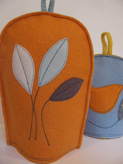 Coffee Tea cosies by Elizabeth Cook Pictures, via Flickr