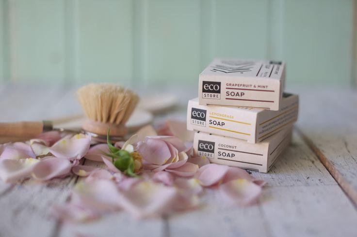 Photo of 3 ecostore soaps by Greta Kenyon #nonastychemicals