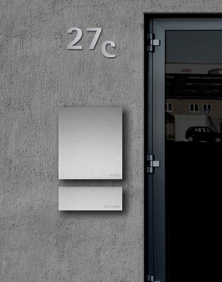 25 best ideas about briefkasten edelstahl on pinterest. Black Bedroom Furniture Sets. Home Design Ideas
