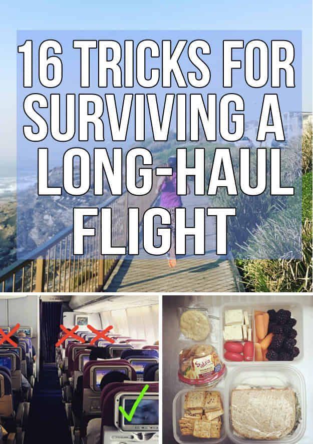 16 Tricks That Will Make Your Next Long-Haul Flight Suck A Little Bit Less