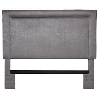 Gray Upholstered Full Queen Headboard At Big Lots Grey