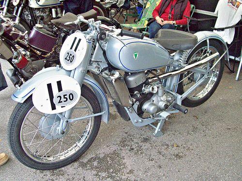 1939 DKW 250SS ( Engine 250cc 2 stroke.)