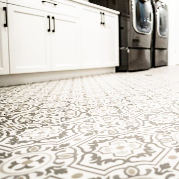 Talk About Making A Statement Our Vinyl Sheet Flooring In