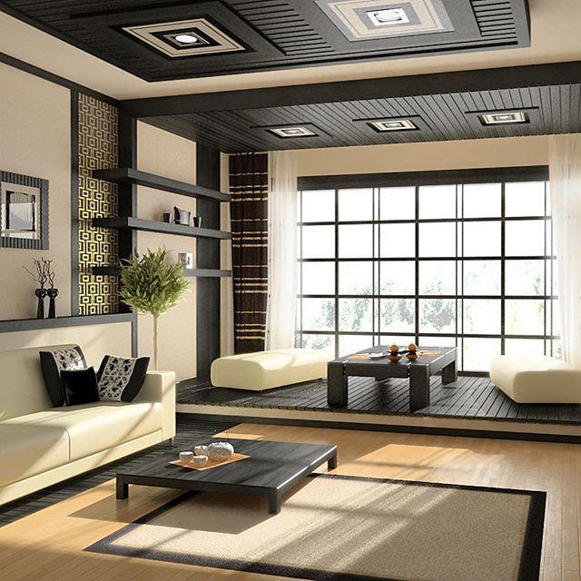 Lasciati ispirare da questo living dallo stile zen, ti piace?  #arredamento #casa #living #zen #legno #soggiorno #design #idea #interiordesign #lusso #stile #decor #decoration