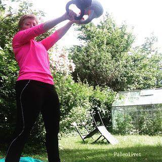 Paleolivet: Træning i Annas baldebiks