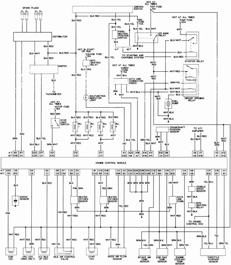 96 Camry Fuel Pump Wiring Diagram Wiring Wiring Diagrams