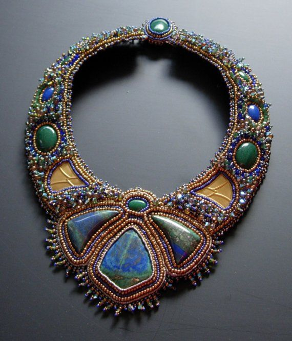 Beautiful beadwork.