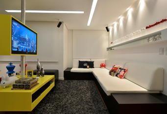 Colorido, apartamento mostra formas e funções em jogo de esconde e exibe - Casa & Cia - Zero Hora