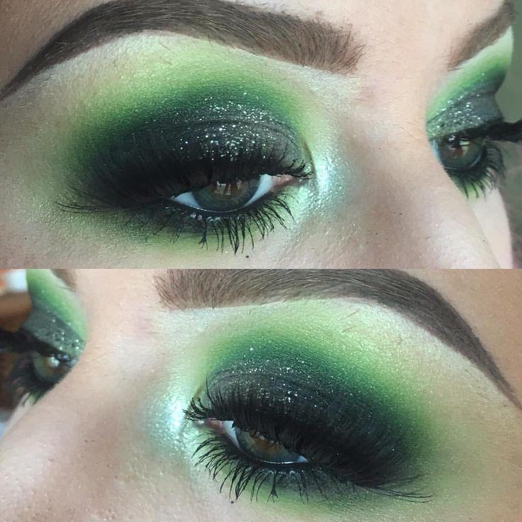 "143 Likes, 10 Comments - seana  (@pixielash) on Instagram: ""green eyeshadow is my favorite eyeshadow  @sugarpill acidberry, midori & bulletproof…"""