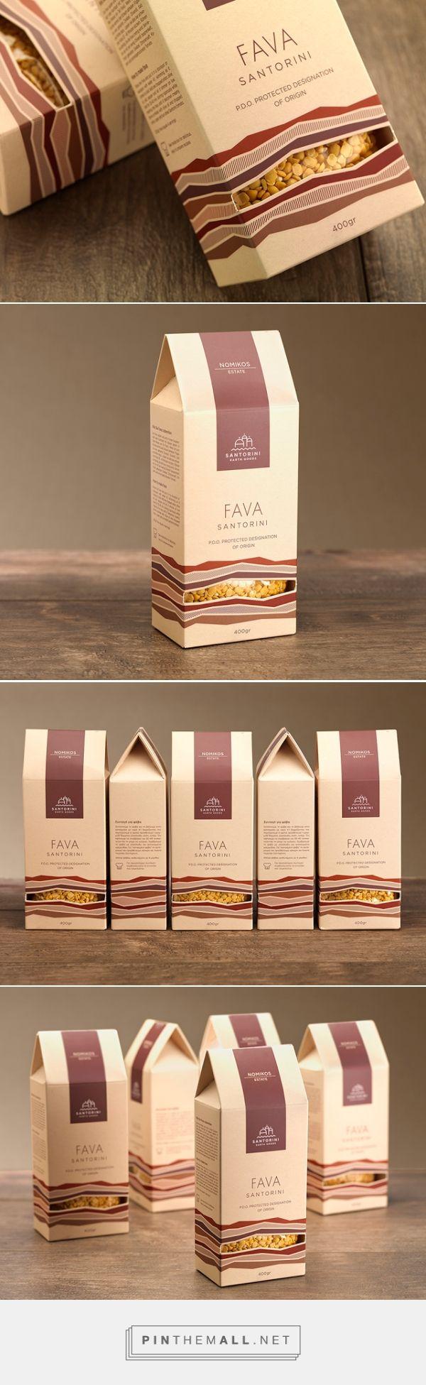 Fava Santorini - Nomikos Estate - Packaging of the World - Creative Package Design Gallery - http://www.packagingoftheworld.com/2016/01/fava-santorini-nomikos-estate.html
