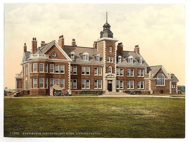 My Mom & Sister used to work here! ♥ [Rustington Convalescent Home, Littlehampton, England] (LOC) by The Library of Congress