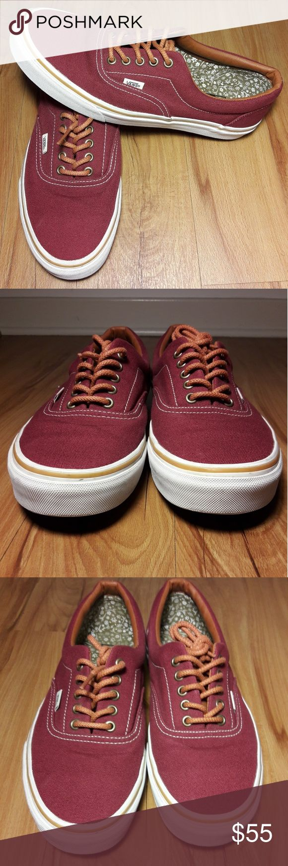 Vans Mens Slip on Tie Shoe Size 10.5 Men's Van's 10.5 Burgundy Shoes Classic Canvas Slip On & Tie Skateboarding   Pre-owned in Excellent condition.   Some minor scuffs from normal wear. Please view images.  Thank you for Looking & Sharing Happy Poshing Vans Shoes Loafers & Slip-Ons
