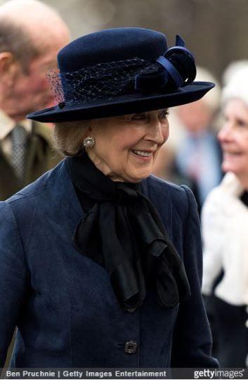 Princess Alexandra, February 5, 2015 | Royal Hats