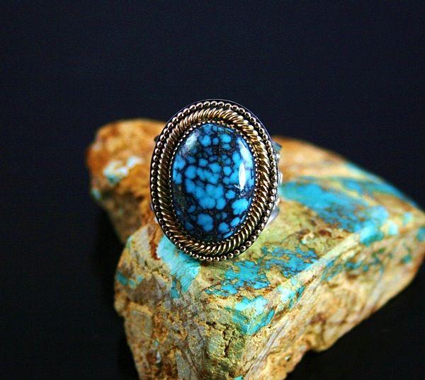 Rare Gem Grade Indian Mountain Turquoise Turquoise