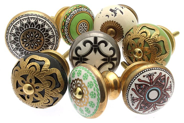 Marrakesh Gold Collection Drawer Knobs