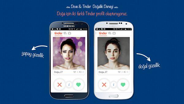 Dove & Tinder Natural Beauty Experiment