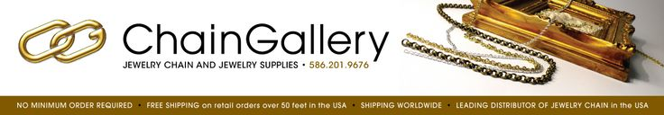 ChainGallery | Suppliers of Jewelry Chain Sold by the Foot