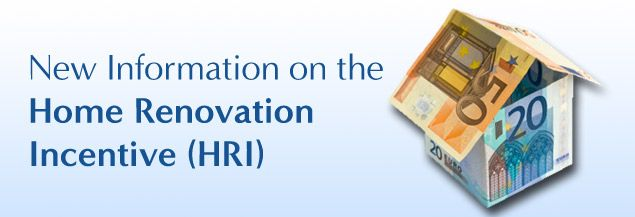 The Revenue Commissioners have new information available on the Home Renovation Incentive (HRI), for more information see here:- http://blog.tradesmen.ie/2014/01/new-information-available-home-renovation-incentive-hri