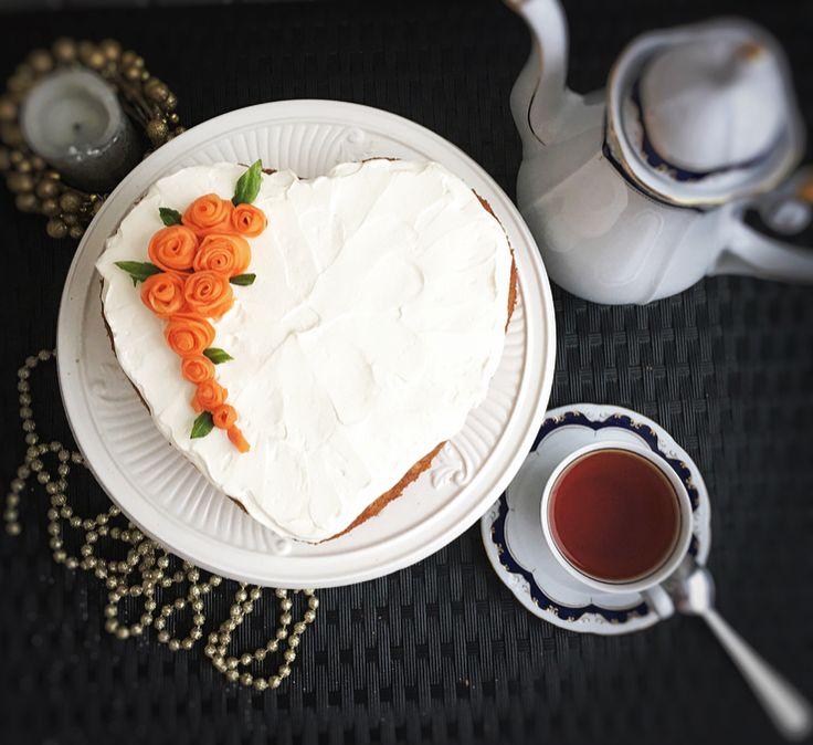 Морковный пирог по рецепту Энди Шеф