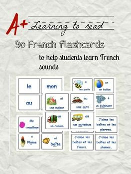 Teaching French can be an arduous process. Why not make it fun with these flashcards? Play around the world, Zut, and other fun games to help students learn and remember. Les sons – from my Learn to Read series features 96 flashcards to help students learn French. The cards teach students the different sounds as well as vocabulary with pictures to facilitate the reading process.