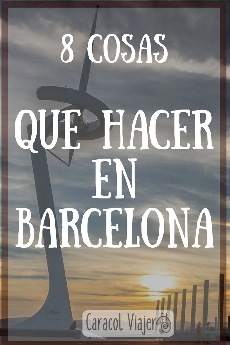 Cosas que hacer en Barcelona, visitas extras para el día 3, qué ver en Barcelona, qué visitar. #barcelona #viajes #barato #español