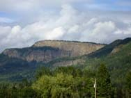 Picturesque Enderby Cliffs. The cliffs provide a commanding view of the Shuswap river and the valley floor. The main hiking trail is the face trail and take only a few hours. If you are in the Enderby / Salmon Arm area we highly recommend this hike.