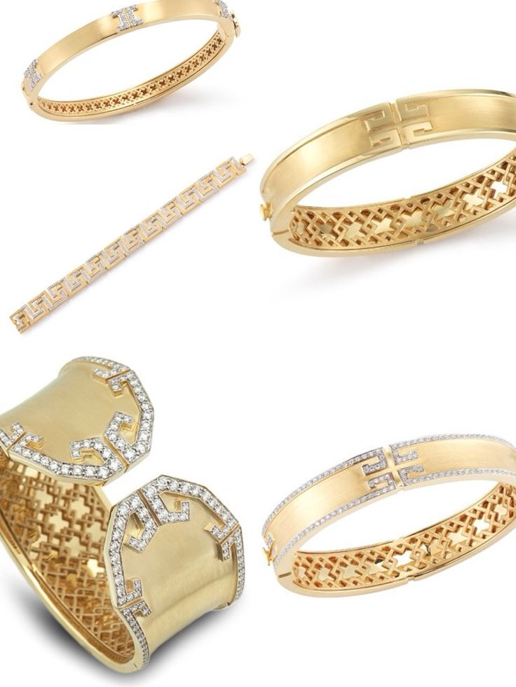 If your go to jewelry is a bracelet, a bangle or a cuff, you will love our new Metropolis Collection. We have different styles of arm wear all made in 18K Yellow Gold and Diamonds. They are also available for preorder on our website.