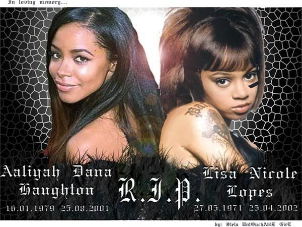 Lisa Left Eye Autopsy   Oh! Left Eye is the moniker of a girl that died with Aaliyah!