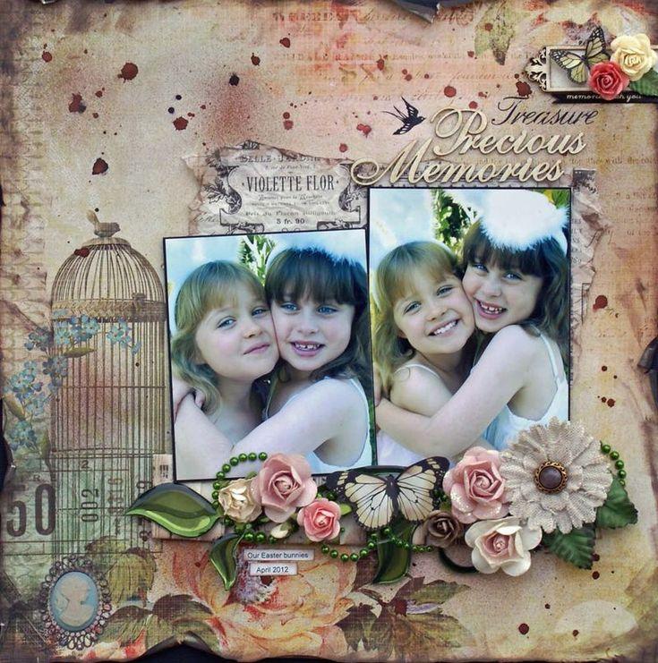 Precious Memories FWAB - Sonia Thomason - KaiserCraft Sweet Nothings
