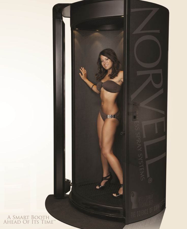 Norvell Sunless - automatic spray tan booth