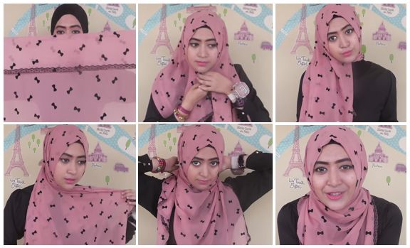 3. Tutorial Hijab Modern 2014