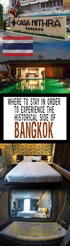 Looking for a place to stay in the Old Town of Bangkok in Thailand then Casa Nithra could be the place for you.