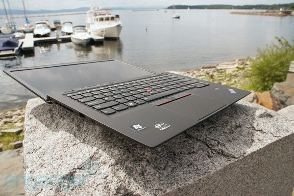 The ultimate corporate ultrabook which could work as a bread slicer: Lenovo X1 Carbon