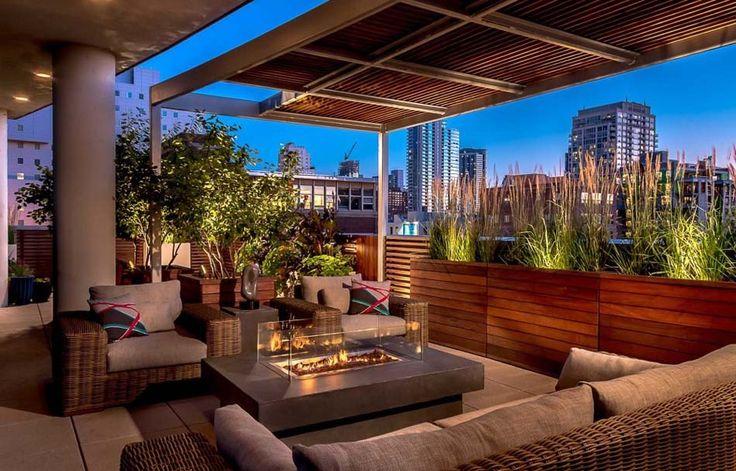1000 id es sur le th me terrasse sur le toit sur pinterest terrasse terras - Amenagement terrasse de toit ...