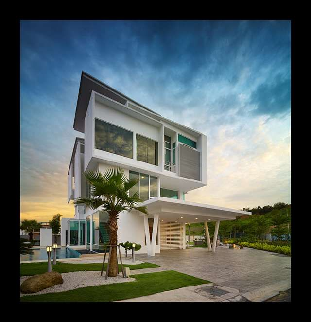 124 best 1 4 malaysia modern villas images on pinterest for Architecture design company in malaysia