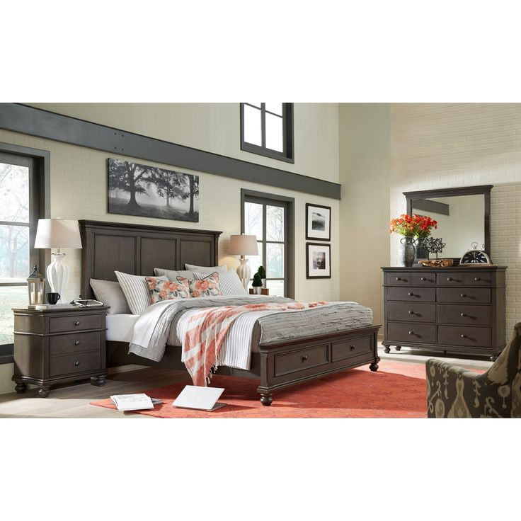 Pin By Patience Spina On Home Decor With Images Dark Bedroom Furniture Bedroom Sets