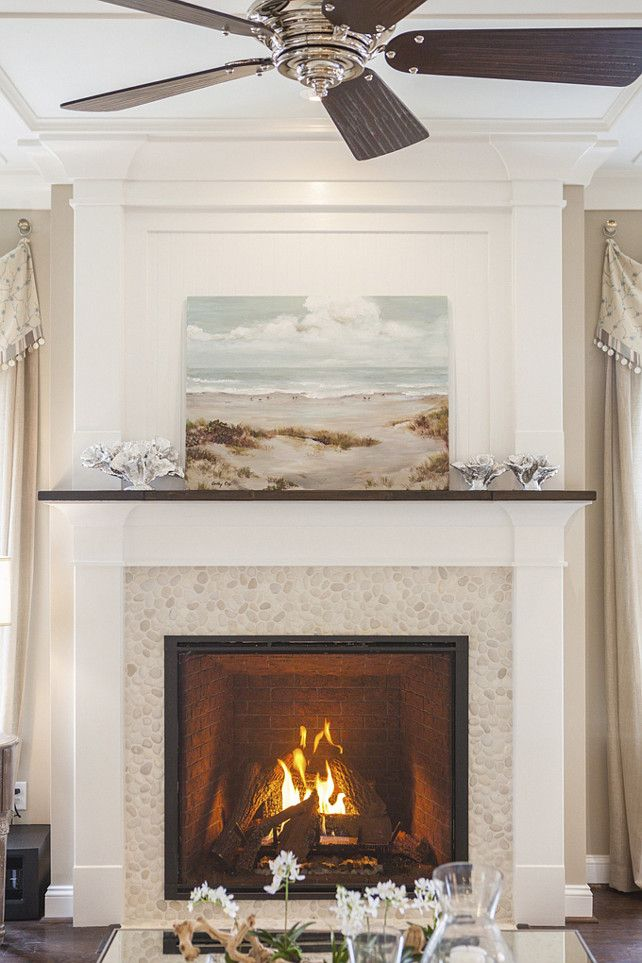 98 best images about fireplace surrounds on pinterest for Craftsman fireplace pictures