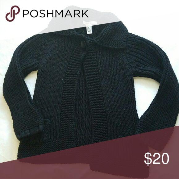 MNG by MANGO BLACK CARDIGAN M.N.G. by Mango black knit cardigan. Mango Sweaters Cardigans