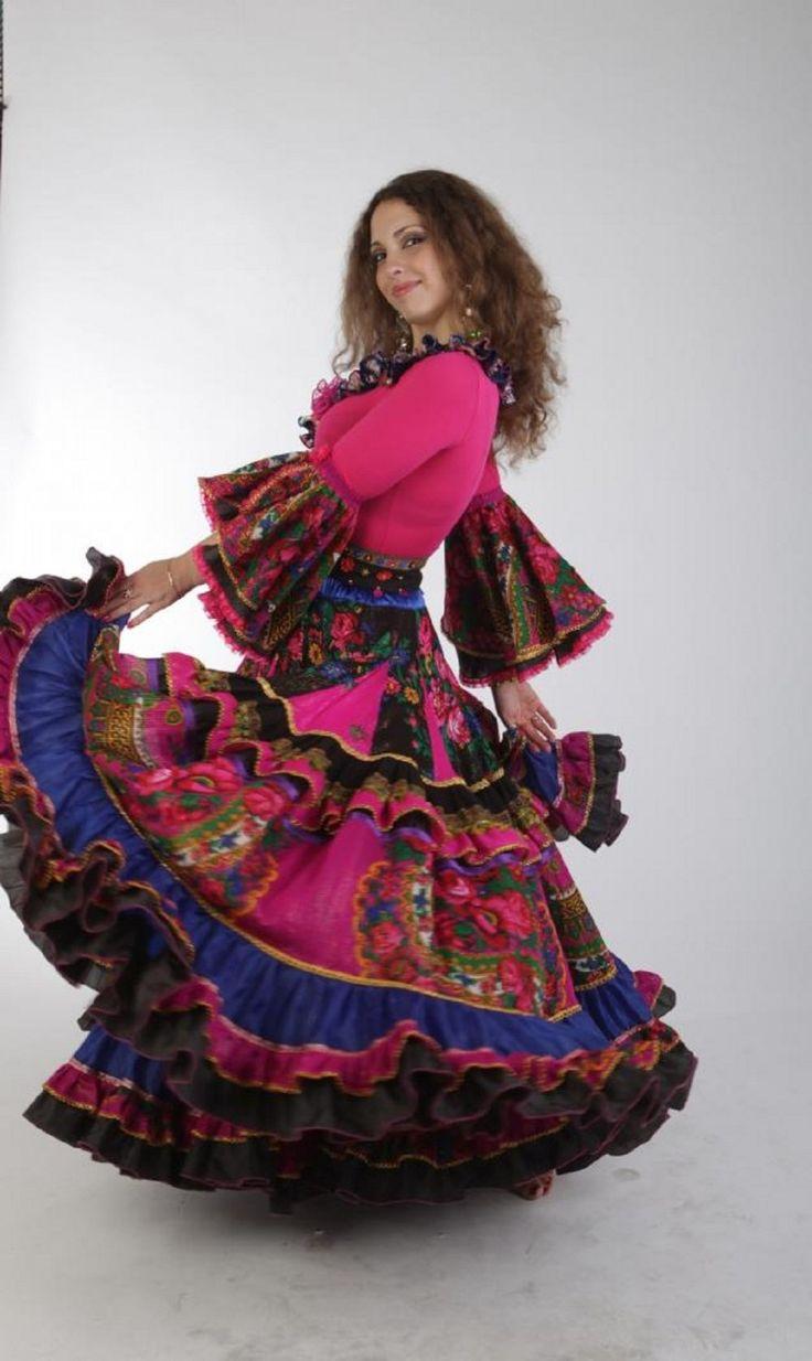 Роскошная цыганская юбка