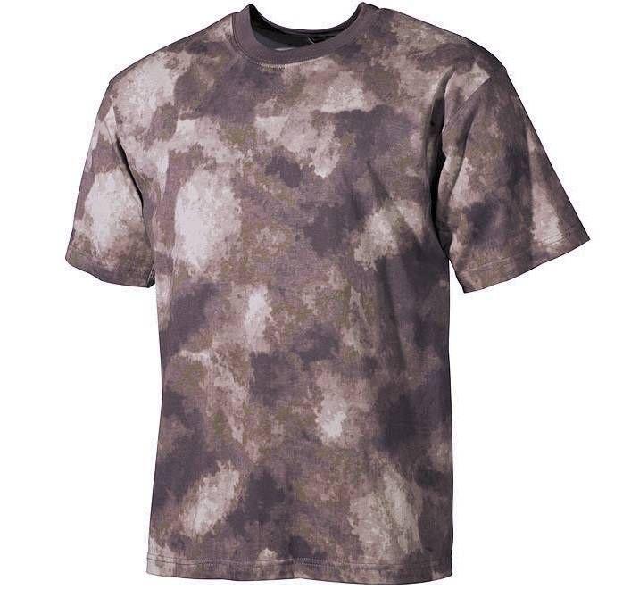US T-Shirt, halbarm, HDT-camo