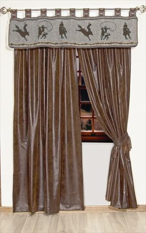 Love these Drapes and the Valance!! I'd pick a different curtain rod....:O)
